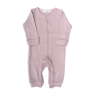 chocolatesoup / LOW GAUGE TERECO ROMPERS / PINK