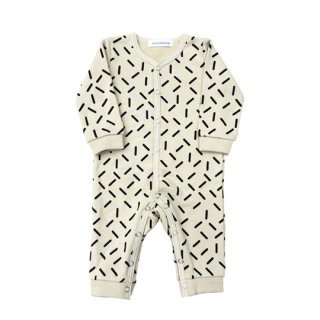 chocolatesoup / GEOMETRY SWEAT ROMPERS /STICK