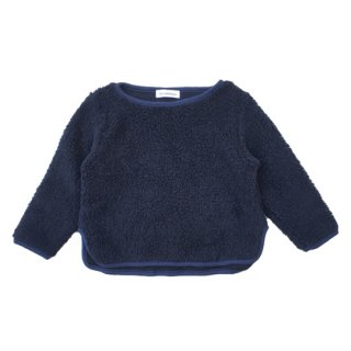 chocolatesoup / WOOL BOA TOPS / NAVY