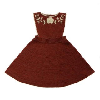 KalinkaKids / Stephanie Dress / Raisin