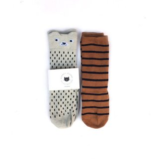 Audrey Jeanne / Socks / Bear 2P