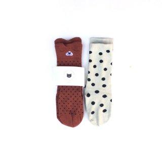 Audrey Jeanne / Socks / Drowsy bear 2P