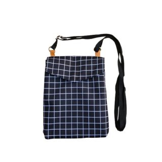 chocolatesoup / GEOMETRY SHOULDER BAG / GRID