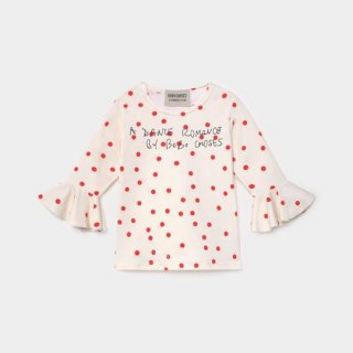 BOBO CHOSES / Dots Ruffle Swim Top / BABY