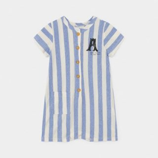 BOBO CHOSES / A Dance Romance Striped  Playsuit / BABY