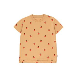 "TINYCOTTONS / ""STRAWBERRIES"" TEE / toffee/red / Kids"