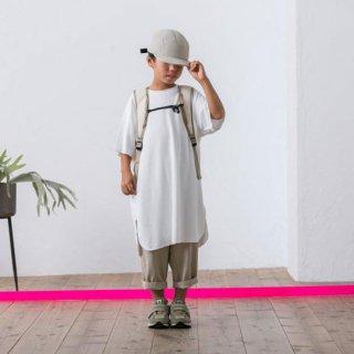 MOUN TEN. / seed stitch dress / white
