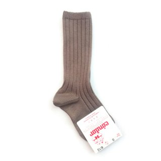 【再入荷】condor / Rib HighSocks / 350 / Mink