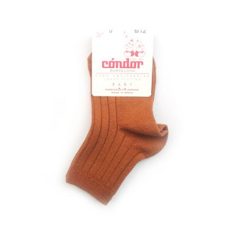 【再入荷】condor / Rib ShortSocks / 696 / Oxide