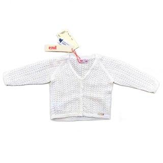 condor / Girl Openwork Cardigan / 202 / Cream