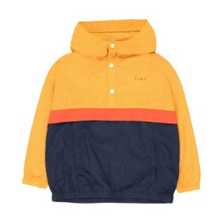 TINYCOTTONS / COLOR BLOCK PULLOVER / yellow/light navy / Kids