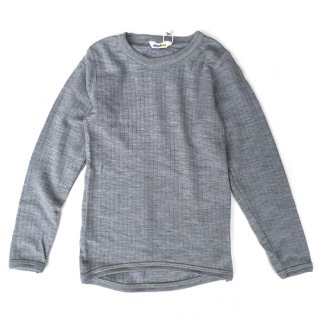 Joha / BLOUSE W/LONGSLEEVES / grey