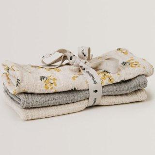 garbo&friends / Mimosa Burp Cloths  3set