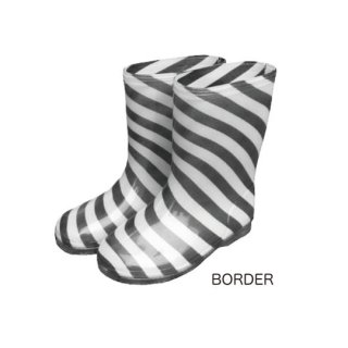 chocolatesoup / GEOMETRY RAINBOOTS / BORDER