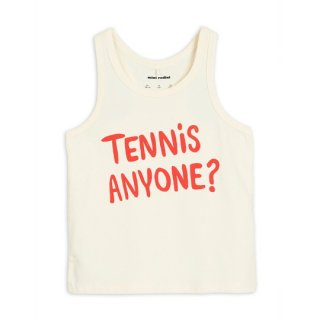 mini rodini / Tennis anyone tank / Offwhite