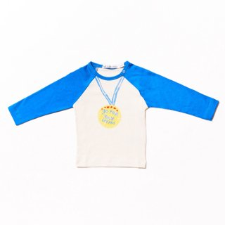 【30%OFF!】Noe&Zoe / Baby Baseball Tee / blue