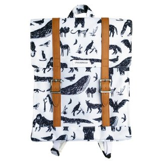 chocolatesoup / BIG SQUARE LESSON BAG / animal