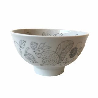 松尾ミユキ / Ceramic Bowl /  Squirrel nuts