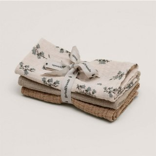 garbo&friends / Bluebell Burp Cloths  3set