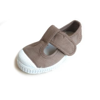 【再入荷】CIENTA [シエンタ] / beige/dyed / T-strap shoes
