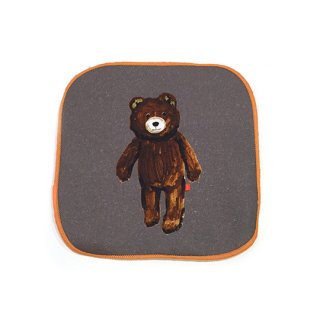 Koike Fumi / Hand cloth / Stuffed bear