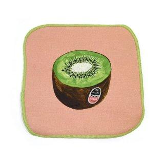 Koike Fumi / Hand cloth / Kiwi fruit