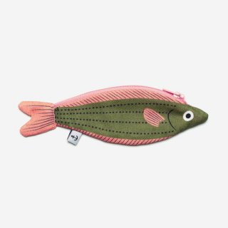 DON FISHER / Madagascar - Green Fusilier - KEYCHAIN