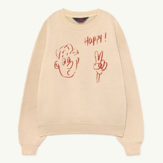The Animals Observatory / BEAR KIDS+ SWEATSHIRT / 1111