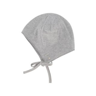 GRAY LABEL / Baby Hat With Strings / Grey Melange / baby