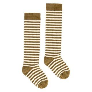Gray Label / Long Ribbed Socks / Peanut&Cream