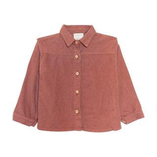 yellow pelota / Soldago Shirt / Cocoa