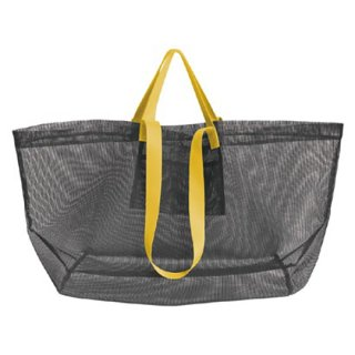 amabro / MESH CARRY BAG / Dark Gray
