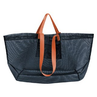 amabro / MESH CARRY BAG / Navy