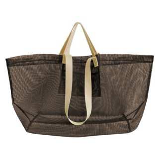 amabro / MESH CARRY BAG / Brown