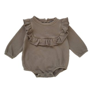 tocoto vintage / Felt body with flounces / BEIGE