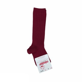 condor / Rib HighSocks / 572 / Burgundy