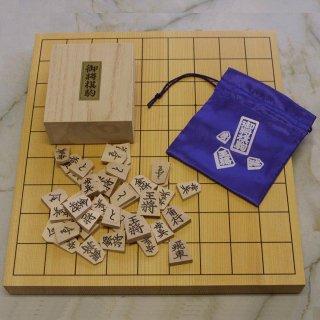 楓押駒 菱湖書 新カヤ1寸盤セット