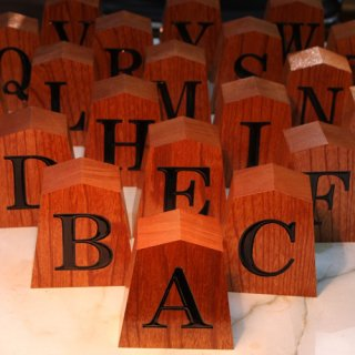 選べるローマ字 置き駒 「A〜Z」