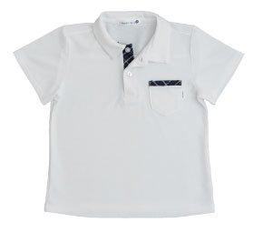 角衿ポロシャツ半袖110・120・130