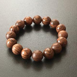 ボコーテの数珠ブレスレット(木珠,12mm珠)