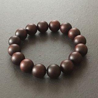 インドローズの数珠ブレスレット(木珠,8mm珠)