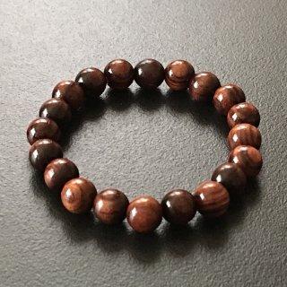 キングウッドの数珠ブレスレット(木珠,8mm珠)