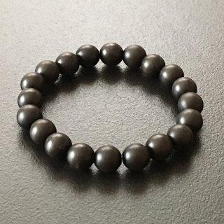 青黒檀の数珠ブレスレット(木珠,8mm珠)