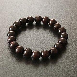 インドローズの数珠ブレスレット(木珠,8mm珠)木のブレスレット