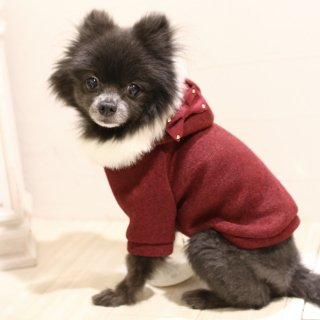 <img class='new_mark_img1' src='https://img.shop-pro.jp/img/new/icons14.gif' style='border:none;display:inline;margin:0px;padding:0px;width:auto;' />fur hooded coat<br>【mimtto】