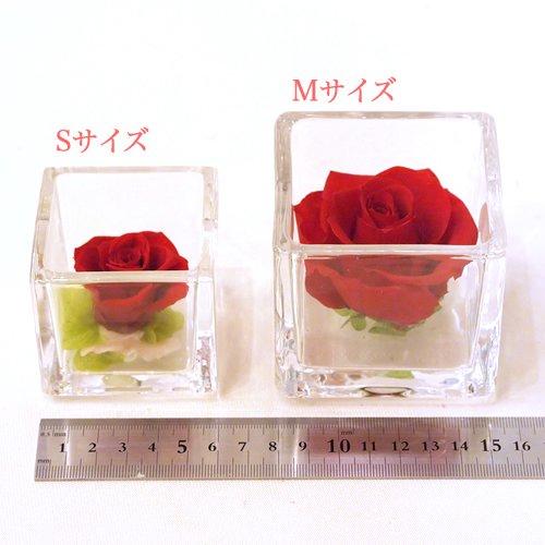 ガラスキューブM(グリーン・ブルー・パープル系)
