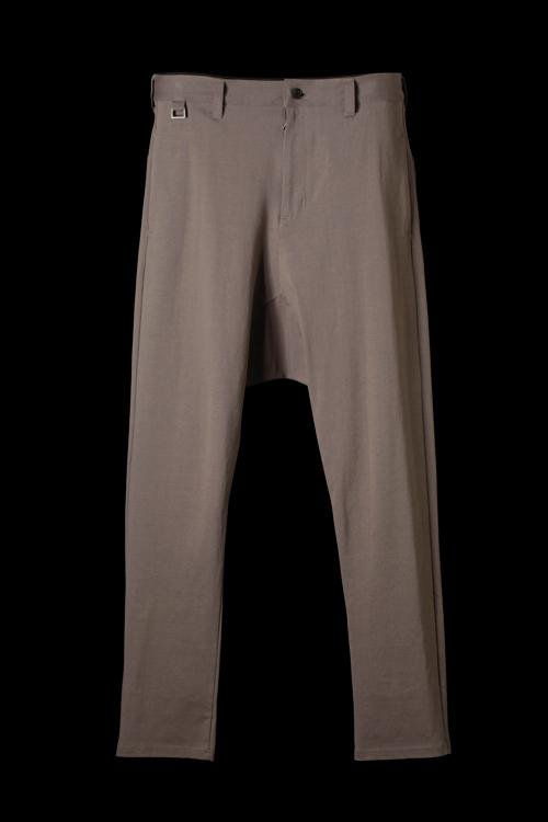 STRETCH-COTTON SARROUEL PANTS
