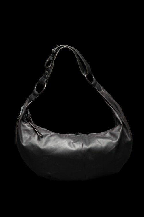 GUIDI CALF SHOULDER BAG【LARGE】