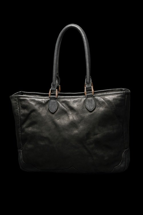 JAPAN STEER GARMENT-DYED TOTE-BAG