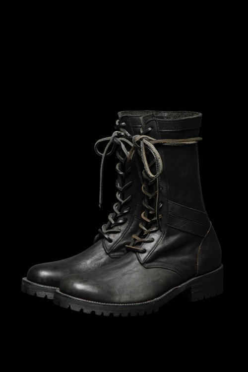 JP SHOULDER GARMENT-DYED COMBAT BOOTS